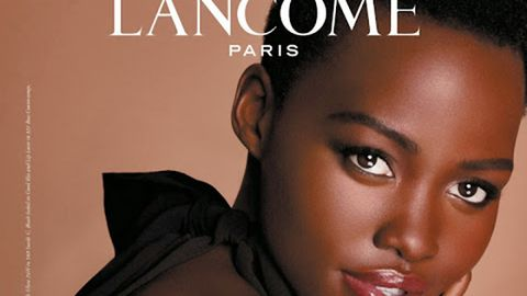 Lip, Cheek, Skin, Forehead, Eyebrow, Eyelash, Black hair, Photography, Poster, Photo caption,