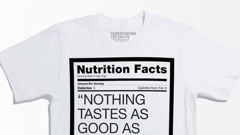 Product, Sleeve, Text, Collar, White, Font, Brand, Active shirt, Top, Trademark,
