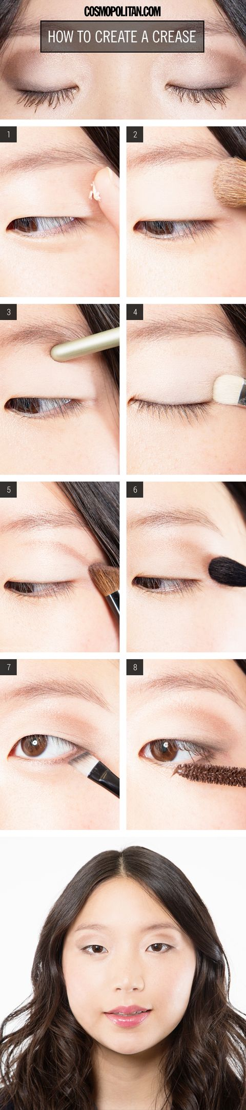 Makeup how to create a dramatic eye crease 1 prep your eyelid with primer since youre creating the illusion of a crease you need something to anchor the colored shadow youre about to put on and baditri Choice Image