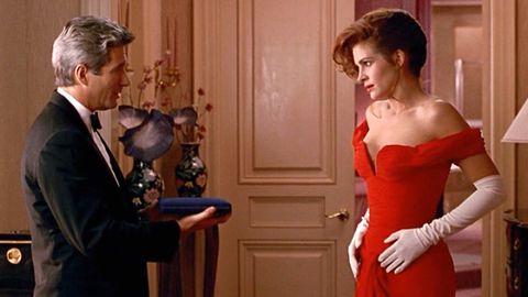Shoulder, Strapless dress, Formal wear, Dress, Suit, Waist, Door, One-piece garment, Model, Day dress,
