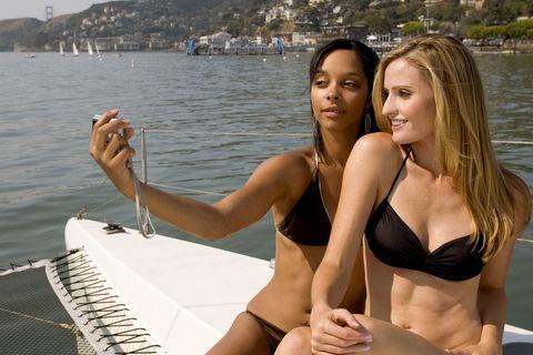 Brassiere, Water, Summer, Swimsuit top, Swimwear, Bikini, Undergarment, Beauty, Thigh, Vacation,