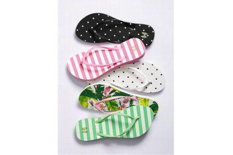 Pattern, Pink, Polka dot, Carmine, Design, Slipper, Ballet flat, Pattern, Walking shoe, Motif,