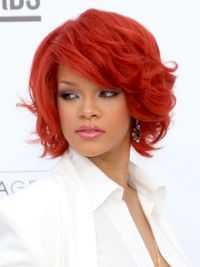 <p>Before Carly Rae, before Katy Perry, before anyone went for the crimson coif – Riri was there, first. Jessica Rabbit-red is not for the timid, but a more muted auburn is always, <em>always</em> hot.</p>
