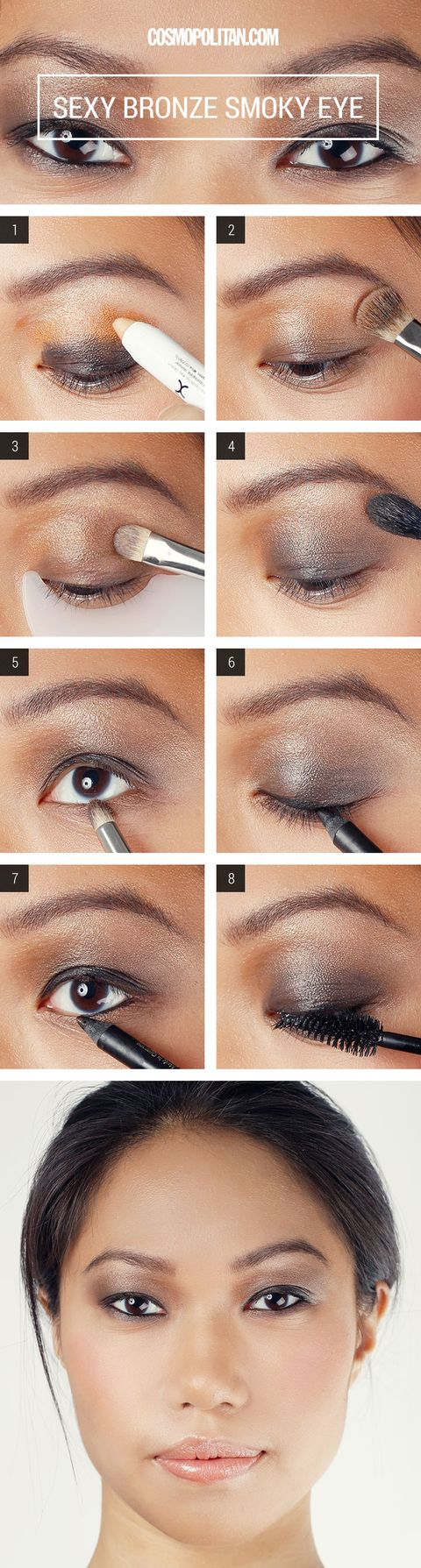 Bronze Smoky Eye Makeup How To Smoky Eye Makeup Tutorial