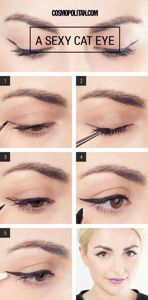 Cat Eye Makeup How To Cat Eye Tutorial