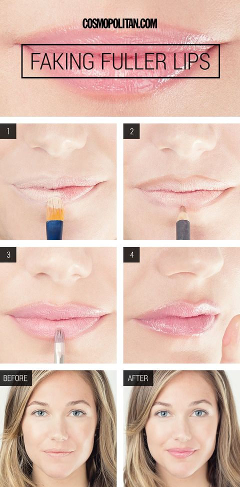 How To Fake Larger Lips Get