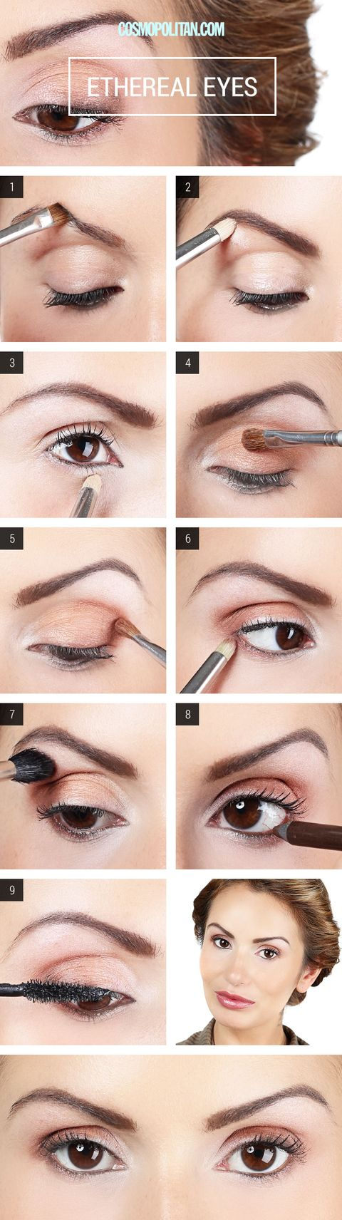 Makeup How To Apply Champagne Eyeshadow Eye Makeup Tutorial