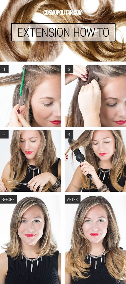 How To Put In Extensions How To Apply Extensions