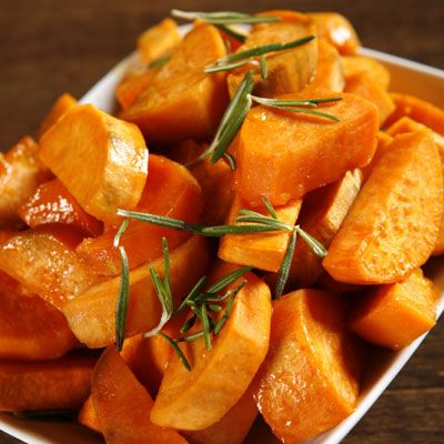 <p>Keep your skin silky smooth by including sweet potatoes in your diet. They are rich in beta-carotene and, when ingested, are converted into vitamin A, a prime factor in keeping skin touchably soft, Drayer says. Not a potato person? Carrots will do the trick, too.</p>