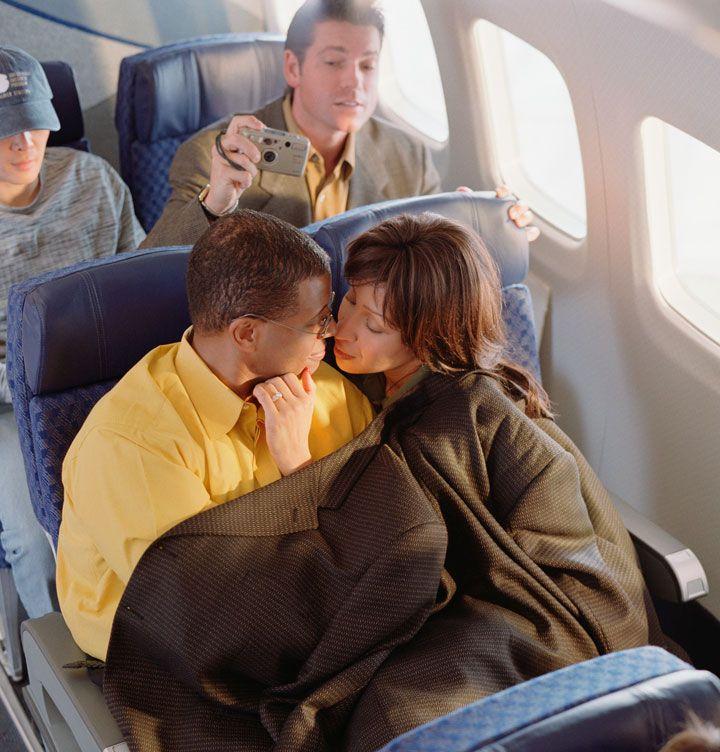 Airplane sex stories