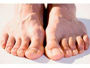 Masculine feet