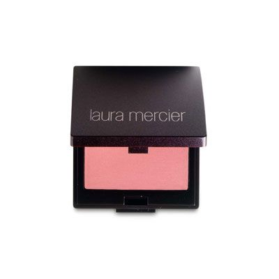 """<p>When you smile, the apple of your cheek pops out. Place your blush right there and blend into your temple — this will make it look like you're naturally flushing.</p> <p>Laura Mercier Second Skin Cheek Colour, $24; <a href=""""http://www.lauramercier.com/store/shop/Blush_Second-Skin-Cheek-Colour_prod190034"""" target=""""_blank"""">lauramercier.com</a></p>"""