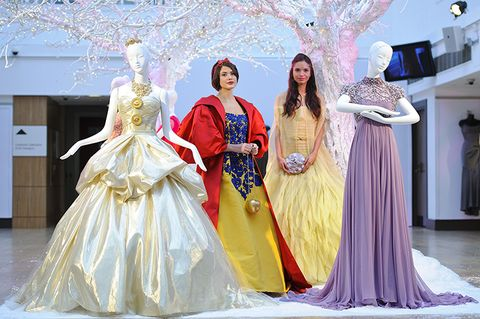 As Part Of Christie S Annual Vintage Couture The Famous Auction House Is Offering Up Disney Princess Inspired Gowns All Designed By Fashion Elite