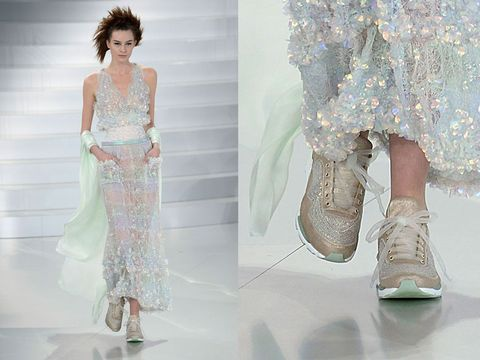 0102c114949a Are Sneakers the New High Heels  Haute running at haute couture.