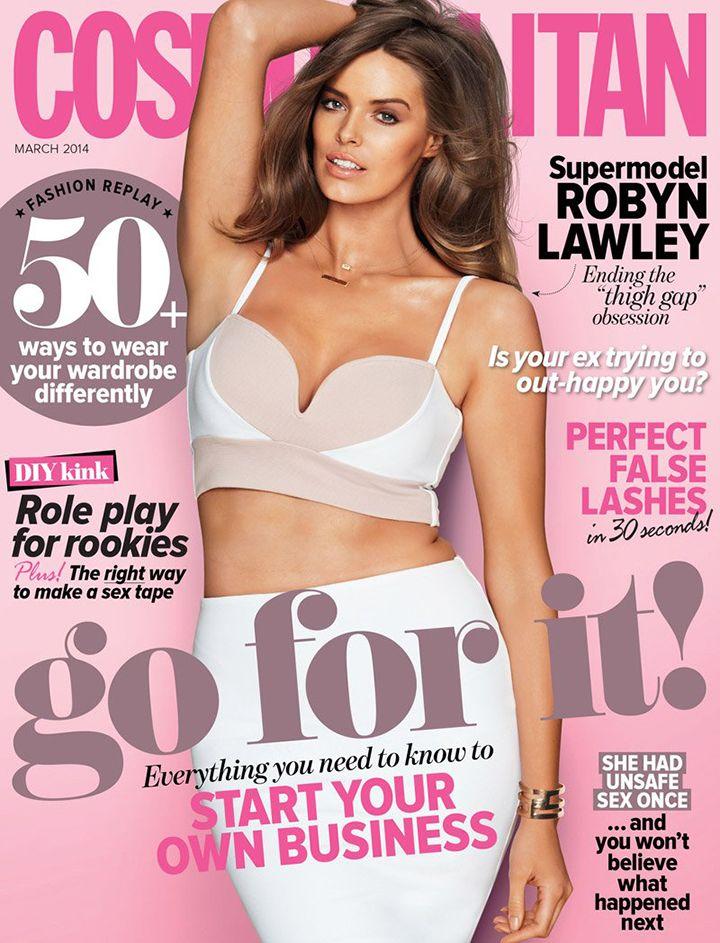 Plus size magazine models