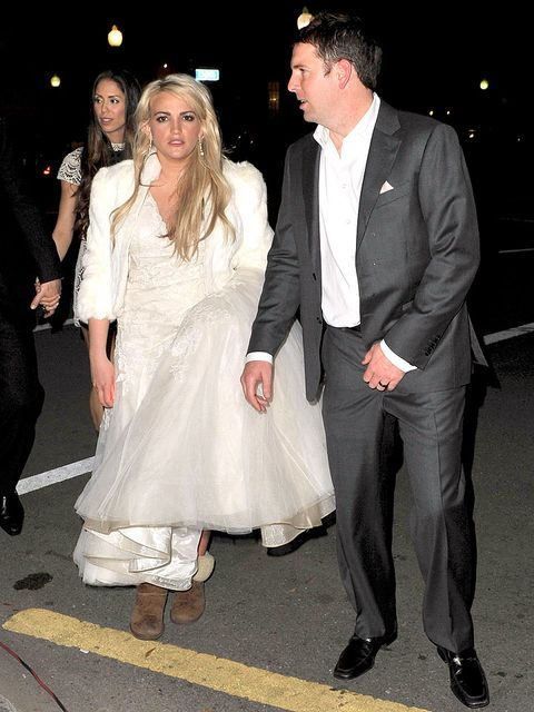 Jamie Lynn Spears Wore UGGS On Her Wedding Day