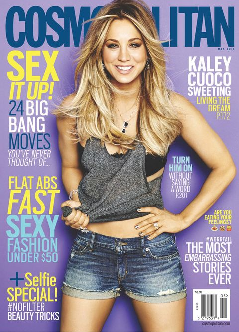 Image result for kaley cuoco cosmo