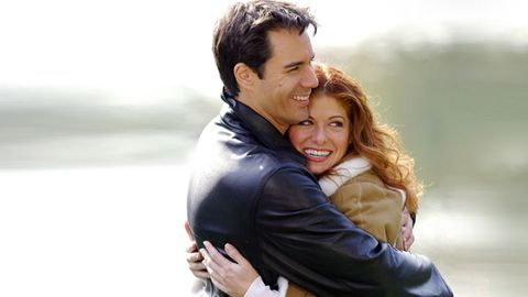 Smile, Happy, Facial expression, People in nature, Romance, Honeymoon, Interaction, Love, Hug, Holiday,