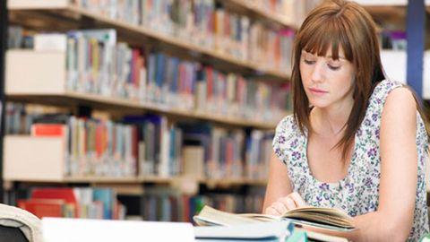 Shelf, Publication, Shelving, Bangs, Eyelash, Book, Education, Library, Feathered hair, Collection,