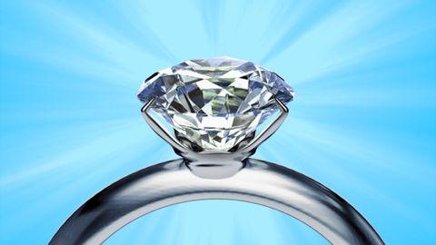 Blue, Aqua, Azure, Electric blue, Teal, Gemstone, Diamond, Silver, Macro photography, Engagement ring,
