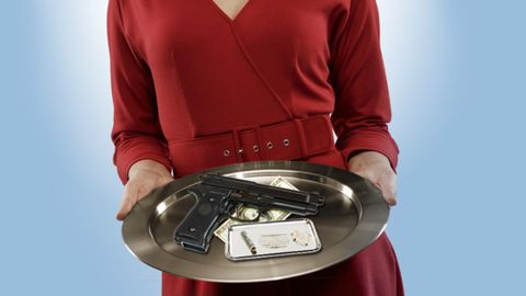 Sleeve, Telephony, Corded phone, Machine, Communication Device, Gadget, Electronics, Sweater, Engineering, Telephone,