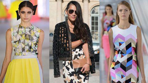 Eyewear, Nose, Glasses, Vision care, Sleeve, Pattern, Textile, Sunglasses, Style, Street fashion,