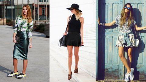 Clothing, Eyewear, Footwear, Leg, Sleeve, Human body, Shoulder, Bag, Textile, Photograph,