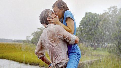 Mammal, People in nature, Interaction, Romance, Love, Hug, Wetland, Mud, Back, Gesture,