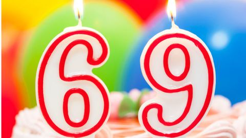 Birthday Candles 69
