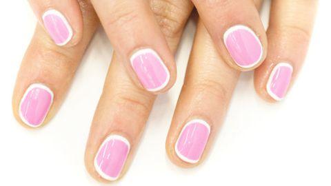 Finger, Skin, Nail, Purple, Magenta, Nail care, Nail polish, Red, Pink, Violet,