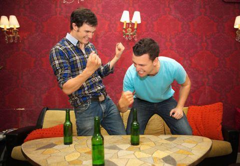 Lighting, Drink, Bottle, Alcohol, Room, Alcoholic beverage, Furniture, Lamp, Glass bottle, Drinkware,
