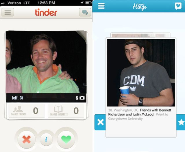 Tinder vs other dating apps