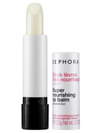 <p>Yummy flavors are nice, but if you're sensitive to certain fragrances it can be hard to find a balm that doesn't make you feel icky. This one doesn't have any added sweet flavors, plus glides for instant softness!</p>