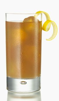 <p>1 1/2 ounces Tequila Don Julio Blanco<br />3/4 ounce Fresh Lime Juice<br />1/2 ounce Ginger Syrup*<br />Ginger Ale for Top<br />Red Blackcurrant Liqueur for Float<br />Ice cubes<br />Lime Wheel for Garnish<br /> <br />*To Create Ginger Syrup<br />2 parts White Sugar<br />Ginger Root</p><p>Strip off the skin of one ginger root. Place in vegetable juicer. Add 2 parts white sugar to 1 part ginger juice by volume.<br /><br />Combine Tequila Don Julio Blanco, fresh lime juice, ginger syrup into a cocktail shaker with ice. Shake well. Strain contents into a Collins glass over ice. Top with ginger ale. Float red black currant liqueur. Garnish with lime wheel.<br /><br /></p>