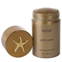 <p>Tired of using countless lotions? Change it up with Tarte's easy to apply Glam Gams Leg Bronzing Stick. Free of parabans, sulfates and other chemicals, you won't have to worry about it being harsh on your skin. Instead it's packed with natural ingredients like pomegranate and acai to deliver rich antioxidants that supply your skin with nutrients. These vitamins are especially awesome due to their anti-aging and skin repleneshing benefits.</p>