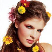 "<p>""Flowers in my hair"" - Ruth</p>"