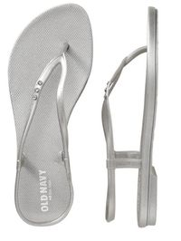"""<p>A pair of flip-flops is definitely essential and yes you can go for a pair of Havaiiana's or ipanema's but Old Navy really has the hook up. They have so many options and variations you can pick whichever you like. Best of all they're super cheap so feel free to get multiple colors!</p><p>$9.00, <a title=""""Flip flops"""" href=""""http://oldnavy.gap.com/browse/product.do?vid=1&pid=388277042"""" target=""""_blank"""">Old Navy</a></p>"""