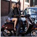 <p>You'll own the town in an iridescent mini. As a cool contrast, top it off with a biker jacket.</p> 