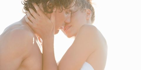 """A fabulous kiss is an intricate balancing act involving tongue  technique, pressure control, and moistness monitoring. Invade his  space with a tantalizing <a href=""""http://www.cosmopolitan.com/sex-love/sex/put-bliss-in-Kiss"""" target=""""_blank"""">kiss-me telegram</a>."""