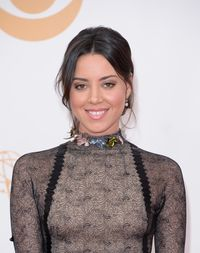 <p><em>Parks and Recreation</em> star, Aubrey Plaza landed the spot on our Fall 2013 issue for her comedic talent and adorable smirk. Our girl crush deepened when we realized she's also a sweetheart.</p>
