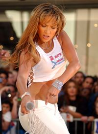 <p>JLo started taking singing and dancing lessons.</p>