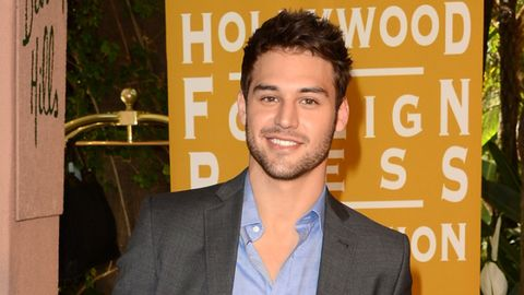 <p>It's hard to fantasize about Guzman's sexy teacher character, Jake, in <em>Pretty Little Liars. </em>Before he became an actor, Guzman was a model, which makes total sense. </p> <p><em>Photo Credit: Getty</em></p>