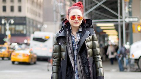 Cosmo Editors' New York Fashion Week Street Style