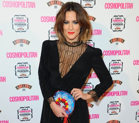 Caroline Flack considering a bit of a career change after Strictly?