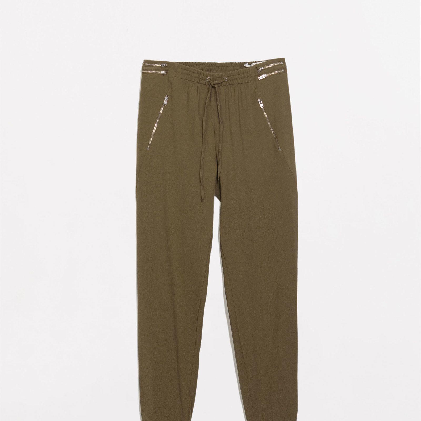 Jogging pants, £39.99, Zara