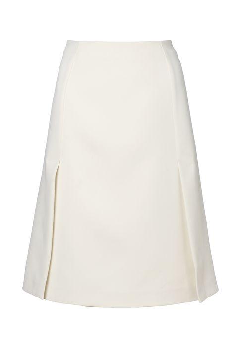 Ruby deep split skirt, £125, Whistles