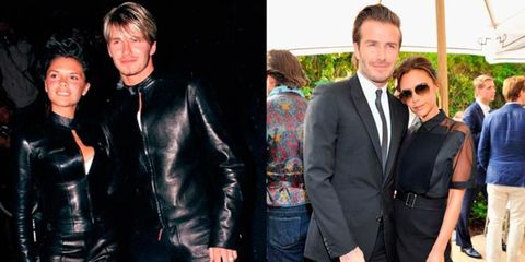 <p>They are widely considered one of the most stylish couples in the world of showbiz - but do you remember when Victoria and David dressed like this?</p> <p>Yeah, it's imprinted in our minds, too.</p> <p>Thankfully for the Beckhams, these days their matching black outfits are much more on-point than the biker suits of yester-year but that doesn't mean we want to forget all the not-so-stylish bumps along their road to high fashion-dom.</p> <p>To celebrate their 15th wedding anniversary, we chart the stylish rise and rise of David and Victoria.</p>