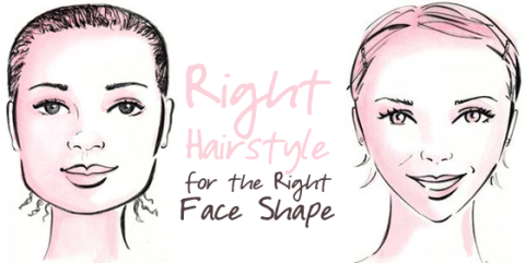 Hair styles to suit your face shape