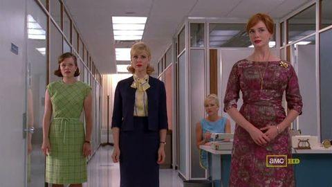 Mad Men office girls