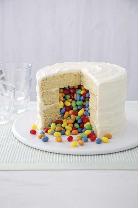 Exploding Jelly Bean Cake